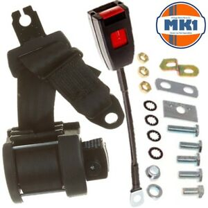 Jaguar E-Type 2+2 Series 2 Coupe 3 Point Front Fully Automatic Seat Belt Kit
