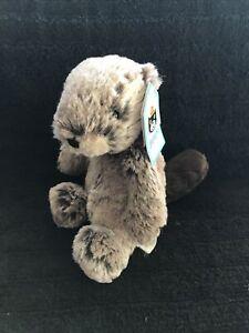 Jellycat Small Bashful Beaver Plush Lovey Stuffed Animal Toy