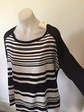 SZ L 14 CALVIN KLEIN TOP NWT  *BUY FIVE OR MORE ITEMS GET FREE POST