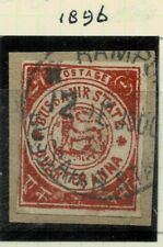 India  BUSSHAHIR 1896 - SG NO 31  USED STAMPS  WITHOUT MONO EXTREMELY RARE