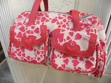 MOSCHINO JEANS FUN SATCHEL BAG WITH HEARTS