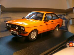 WOW SUPERB NEW SOLD OUT VANGUARDS  1/43 1980 FORD ESCORT MK 2 1600 SPORT RHD NLA