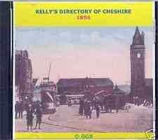 GENEALOGY DIRECTORY OF CHESHIRE 1896 CD ROM