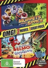 Muppets From Space / The Adventures of Elmo in Grouchland DVD NEW