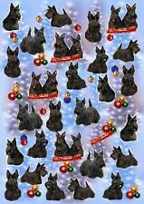 Scottish Terrier Christmas Wrapping Paper By Starprint