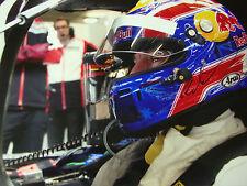 Mark Webber signed 12x8 Porsche 919 Hybrid LMP1, Paul Ricard CME Test 2014