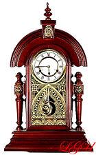 Ansonia Replica King Mantel / Wall Clock Walnut