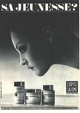 PUBLICITE 1970  CORYSE SALOME cosmétiques bioloderm