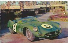 Aston Martin DBR 1/300 postcard - published by Harvey Barton