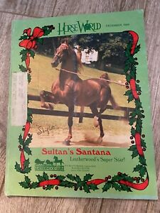 Saddlebred  Horse World December, 1984 Grand Nationals - American Royal