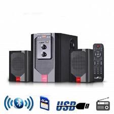 beFree Sound 2.1 CHANNEL Surround Sound*BLUETOOTH*Speaker System*USB/SD/FM*RED