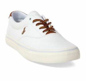 Polo Ralph Lauren Men's Thorton Canvas Low Top Sneakers