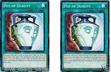 Pot of Duality 1st x 2 MINT  - SDHS-EN034 YU-GI-OH! Hero Strike