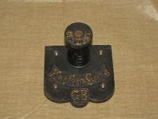 Antique German Wall Clock Chime Bar Mount Gustav Becker