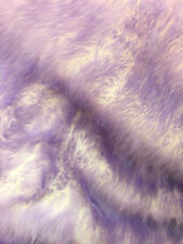 """Faux Fur fake lavender Frosted tips fabric 60"""" Wide sold by the yard upholstery"""