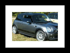 "Mini Cooper Clubman Countryman ""COOPER S"" Side stripes Stripe Graphics Rocker"