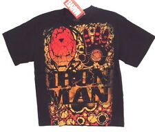 Marvel The Invincible Iron Man Boy's Youth Junior Graphic T-Shirt Size LARGE NWT