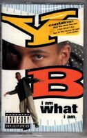 NEW YB I Am What I Am 1992 Cassette Tape Album Hiphop Rap