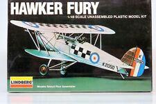 1/48 Lindberg 918 HAWKER FURY Plane Kit Sealed Box NEW FREE SHIP!!!!!!!!!!!!