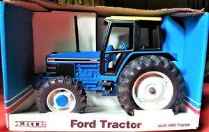 Vintage Ford Tractor 6640 4WD - Ertl Die Cast