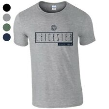 Leicester City F.C - Personalised Mens T-Shirt (ART DECO)
