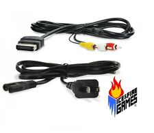New AV Cable & Power Cord for the Original Microsoft Xbox