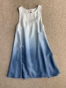 Gap Kids girls blue ombre dress in size 12