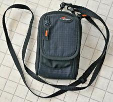 LowePro Ridge 30 Black Digital Camera Padded Small Bag Case w Strap Compact EUC