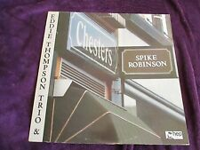 SPIKE ROBINSON & EDDIE THOMPSON TRIO AT CHESTERS EX vinyl Jazz album