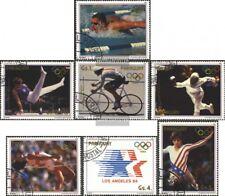 Paraguay 3824-3830 (edición completa) usado 1985 olímpicos. juegos de verano 198