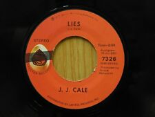 JJ Cale 45 Lies bw Riding Home - Shelter VG+ to VG++