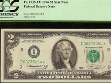 STAR 1976 $2 TWO DOLLAR BILL KEY MINNEAPOLIS FEDERAL RES NOTE Fr 1935-I* PCGS