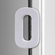 White Home Refrigerator Fridge Freezer Door Lock -Baby Safety Child Lock,Latch C