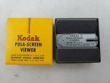 Vintage Eastman Kodak Pola-Screen Viewer in Box - USA