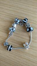 Rhonda Sutton 925 Silver charm bracelet with 925 Silver charms