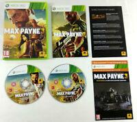 Jeu XBOX 360 VF  Max Payne 3  avec notice  Envoi rapide et suivi