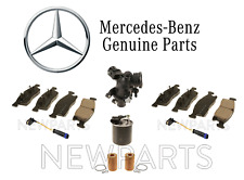 Centric Front /& Rear Metallic Brake Pads 2SET For Mercedes-Benz C180 2012