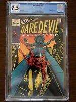 Daredevil #48 CGC 7.5 (Marvel 1969)  Stilt-Man appearance!  Key!