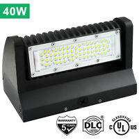 Rotatable LED Wall Pack Light 40W Adjustable Head Outdoor Area Security Lighting