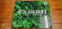 METAL GEAR SOLID3 SNAKE EATER Premium Package PlayStation 2 PS2