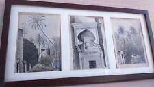 Dessin oriental 1929 . Oriental drawing 1929