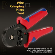 Wire Crimping Pliers Tool Ferrule Crimper 0.25-10mm²+1200Pcs Crimp Terminals