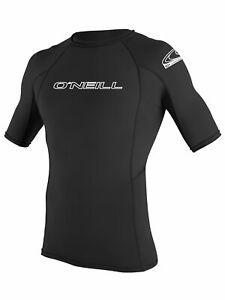 O'Neill men's basic skins short sleeve rashguard