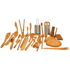 Handcrafted Olive Wood Kitchen Utensils - Every item is Unique, Cooking Products