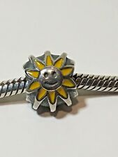 Authentic Pandora Sterling Silver Smiling Sunshine Charm 925 ALE