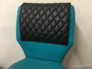 QUILTED vinyl recliner sofa love seat headrest leather damage couch protector