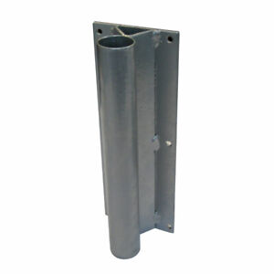Straight Flat Wall Mount for Advertising Pole Mounting Bracket fof Flag Pole