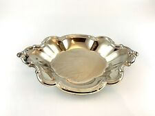 Vintage International Silver Company Silver Plated Oval Nut Tray Dish