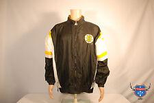 Vintage BOSTON BRUINS STARTER embroidered black 90s windbreaker Mens jacket XL