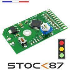5040# Module électronique Feux tricolore + flash radar,  signalisation maquette